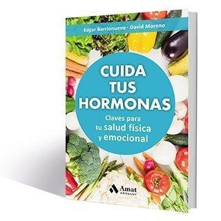 Portada del libro, Cuida tus hormonas