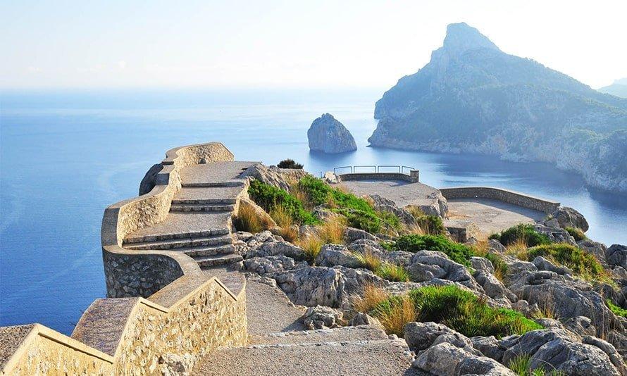 Mirador sa Creueta en Mallorca