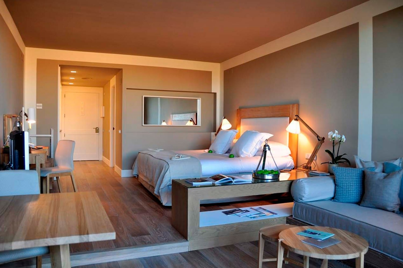 Foto de la suite jardín en el hotel Mas de Torrent