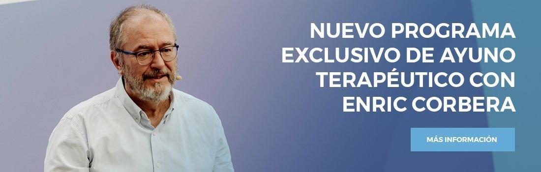 Programa de ayuno exclusivo con Enric Corbera