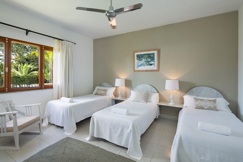habitación del Hotel Punta Sur en Tarifa